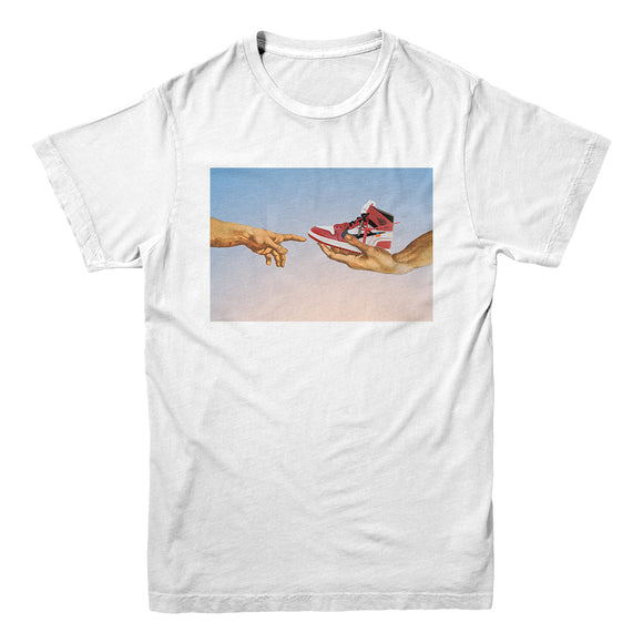 T-shirt Hype Rvles- White- Genesi - DANDY CUSTOM SHOP