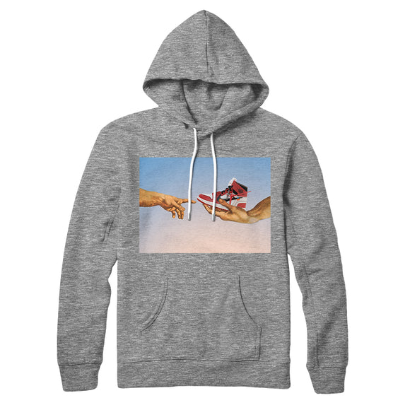 Hoodie Hype Rvles- Grey- Genesi - DANDY CUSTOM SHOP
