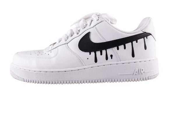 Nike Air Force 1- Custom- Drip - DANDY CUSTOM SHOP