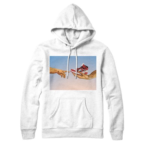 Hoodie Hype Rvles- White- Genesi - DANDY CUSTOM SHOP