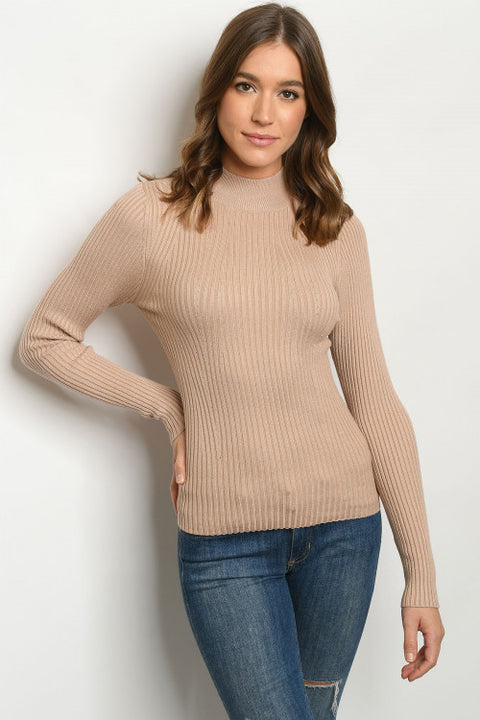 Hot In Taupe Sweater