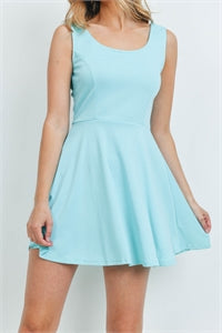 Minty Fit And Flare Dress