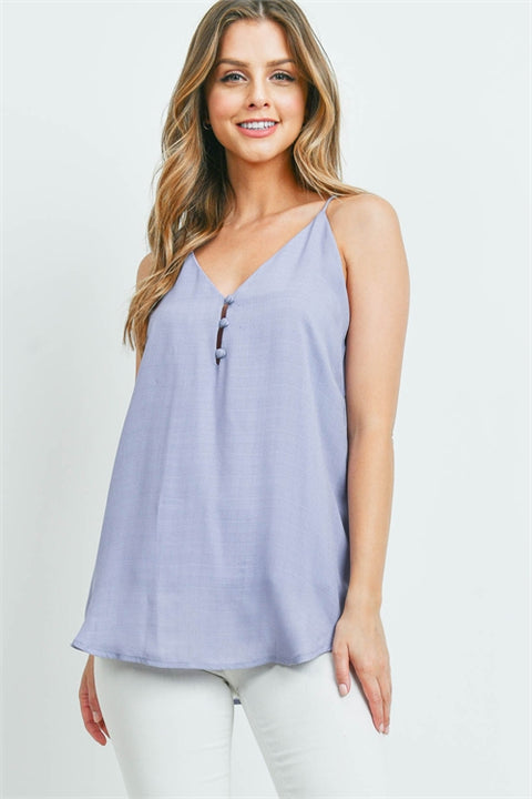 Light And Lilac Breezy Top