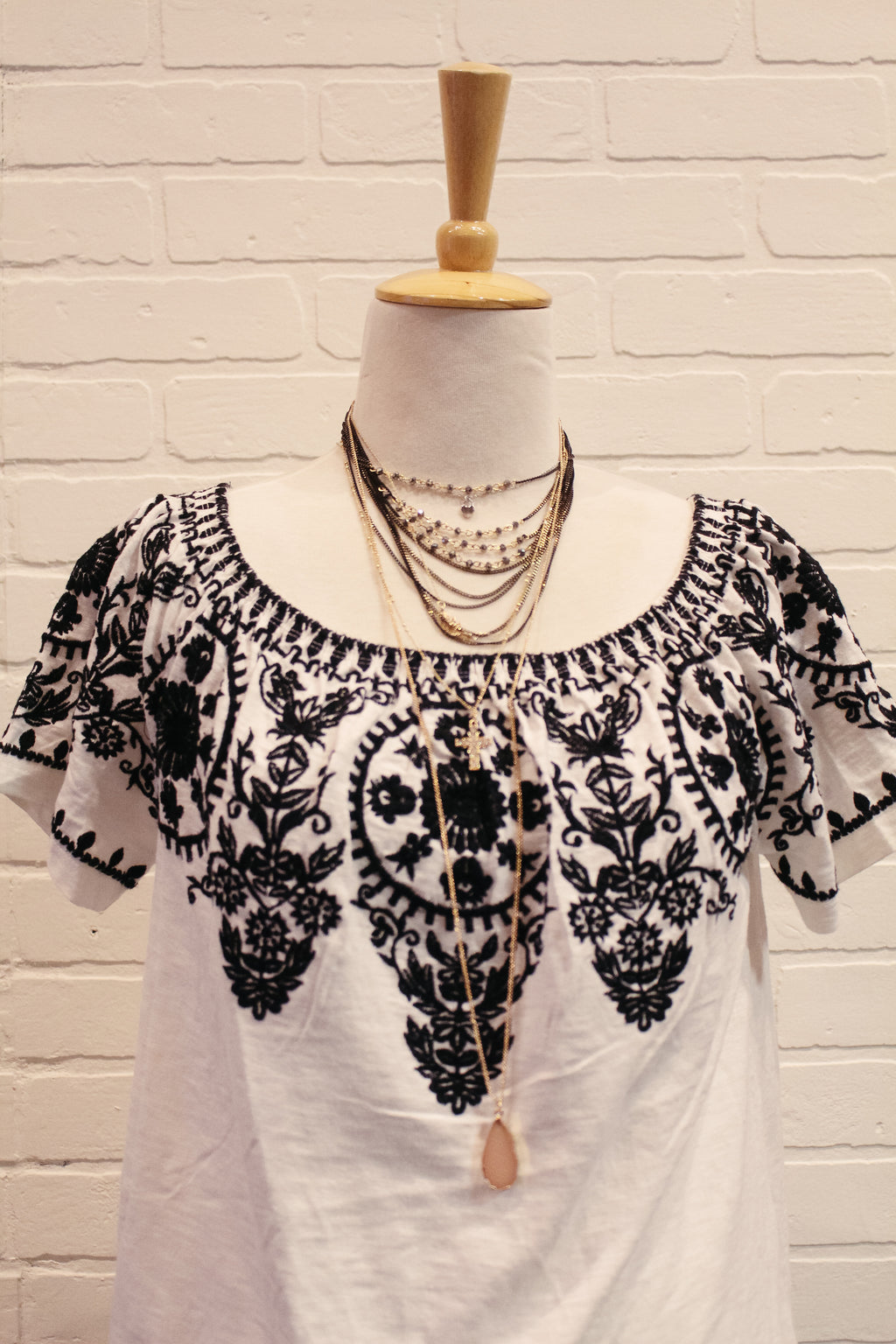Black And White And Out Of Sight Top