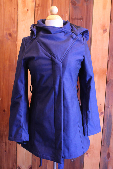 Everglades Fleece Lined Jacket In Indigo Blue