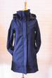 Stella In Indigo Blue Weatherproof Fleece Lined Jacket