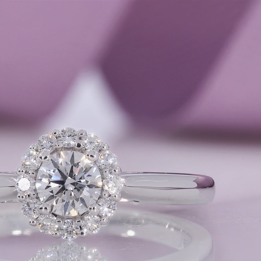 Ruby Diamond Engagement Ring | Gear Jewellers Parnell Street