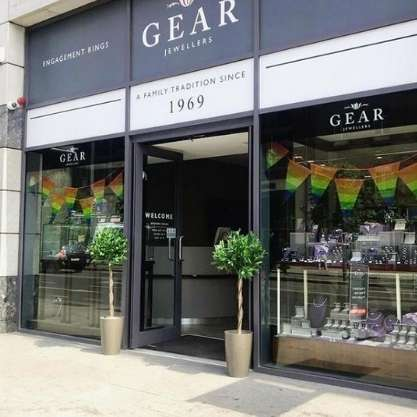 Exterior of Gear Jewellers Store in Dublin 1