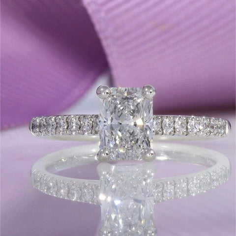 Ailesbury Radiant Cut Engagement Ring