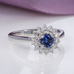 JUDY Sapphire Engagement Ring | Gear Jewellers