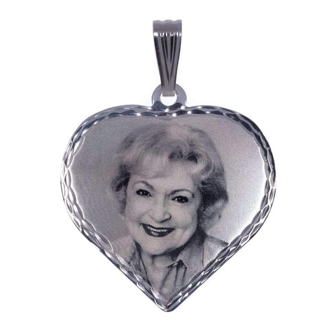 Photo Engraved Pendant by Gear Jewellers
