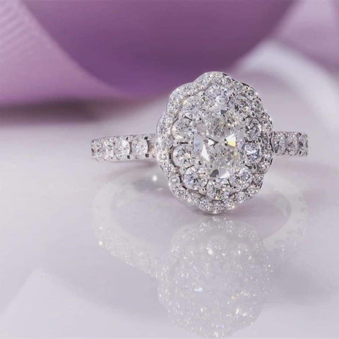 SADHBH Oval Engagement Ring