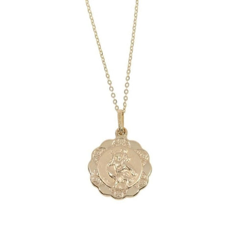 ST. CHRISTOPHER MEDAL in 9ct Gold