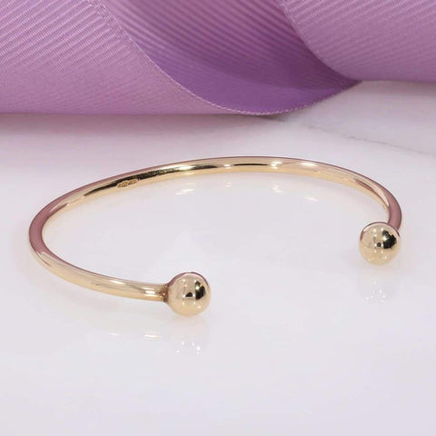 Baby Bangle in 9ct Gold