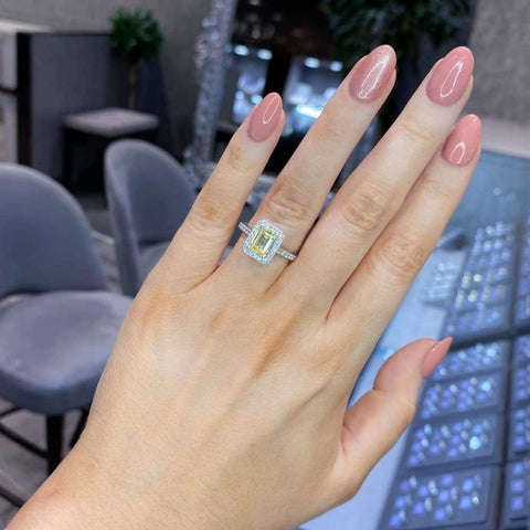 CZ Halo Ring by Gear Jewellers