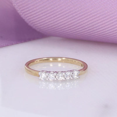 Diamond Eternity Ring | 9ct Gold - Gear Jewellers Parnell Street Dublin