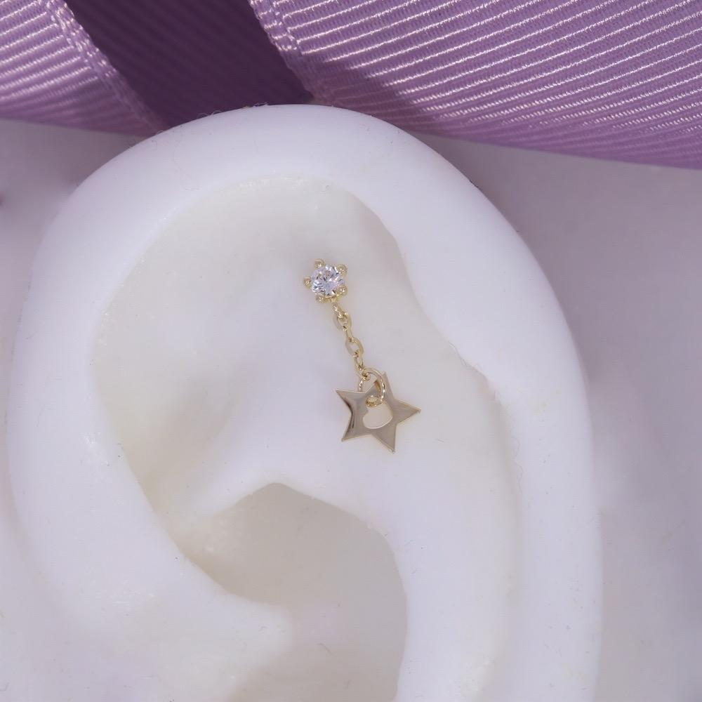 Falling Star | 9ct Gold