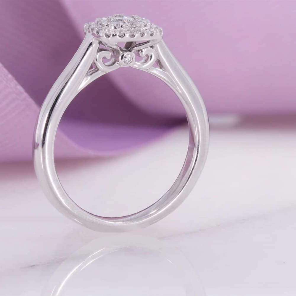 BAILEY - 18ct White Gold | Diamond Engagement Ring - Rings