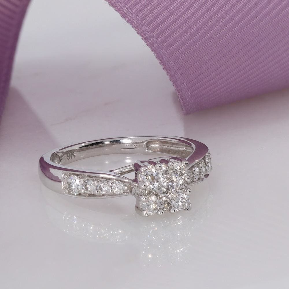 BELLE | Diamond Engagement Ring - Rings