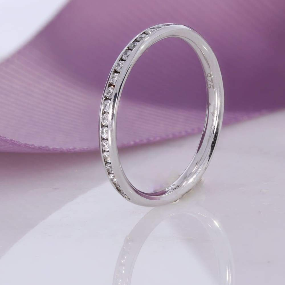 Channel - 1/2 set 2.2mm | Diamond Wedding Ring - Rings