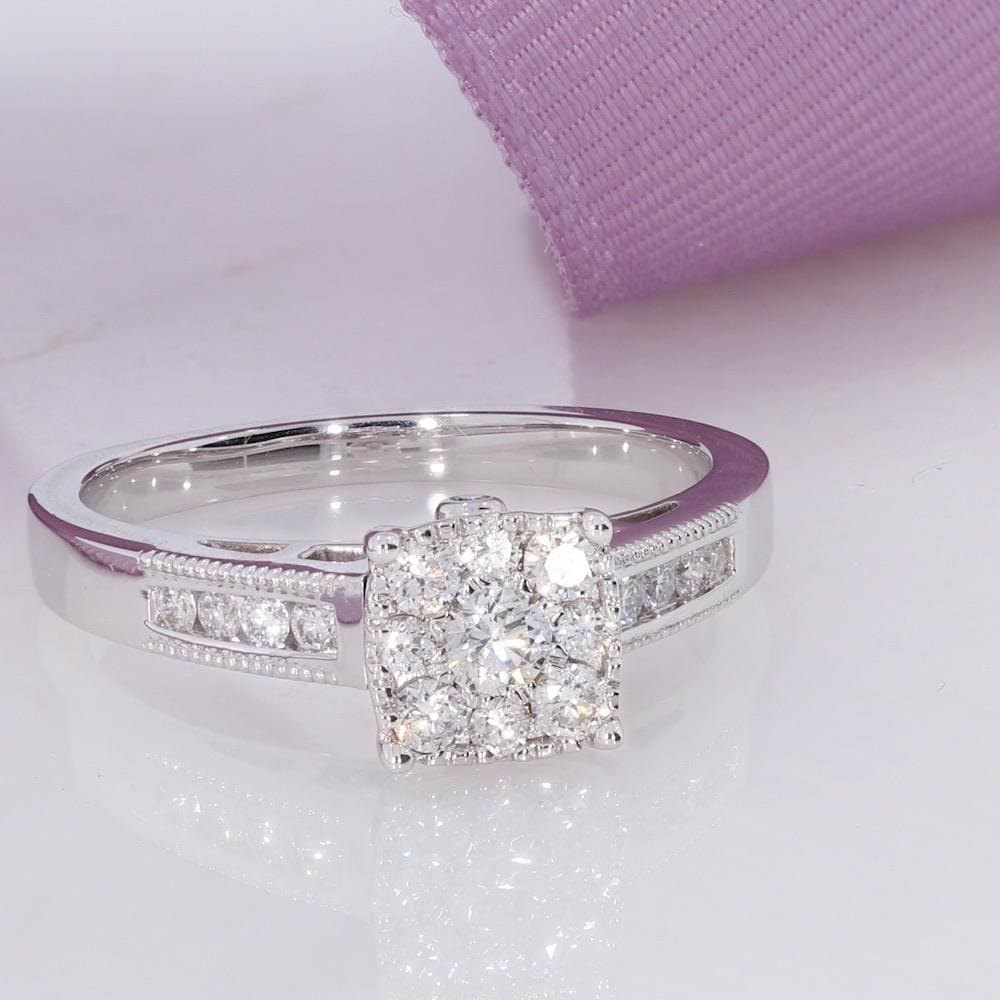 BEVIN | Diamond Engagement Ring - Rings