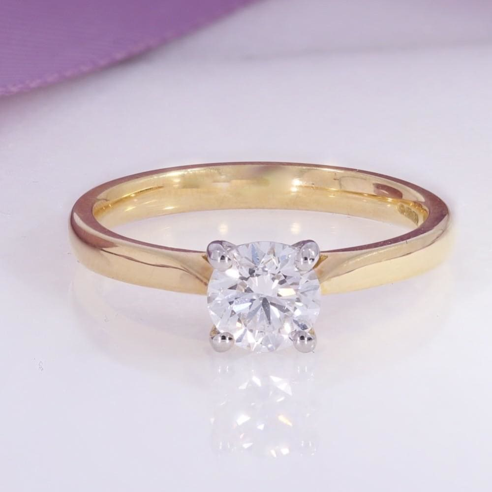 COSMO - 0.65ct | Diamond Engagement Ring - Rings