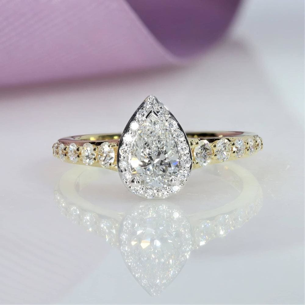 ERIN Diamond Engagement ring | 18ct Gold - Gear Jewellers Dublin