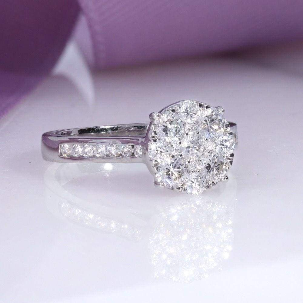 FERN Diamond Engagement Ring | Gear Jewellers Dublin