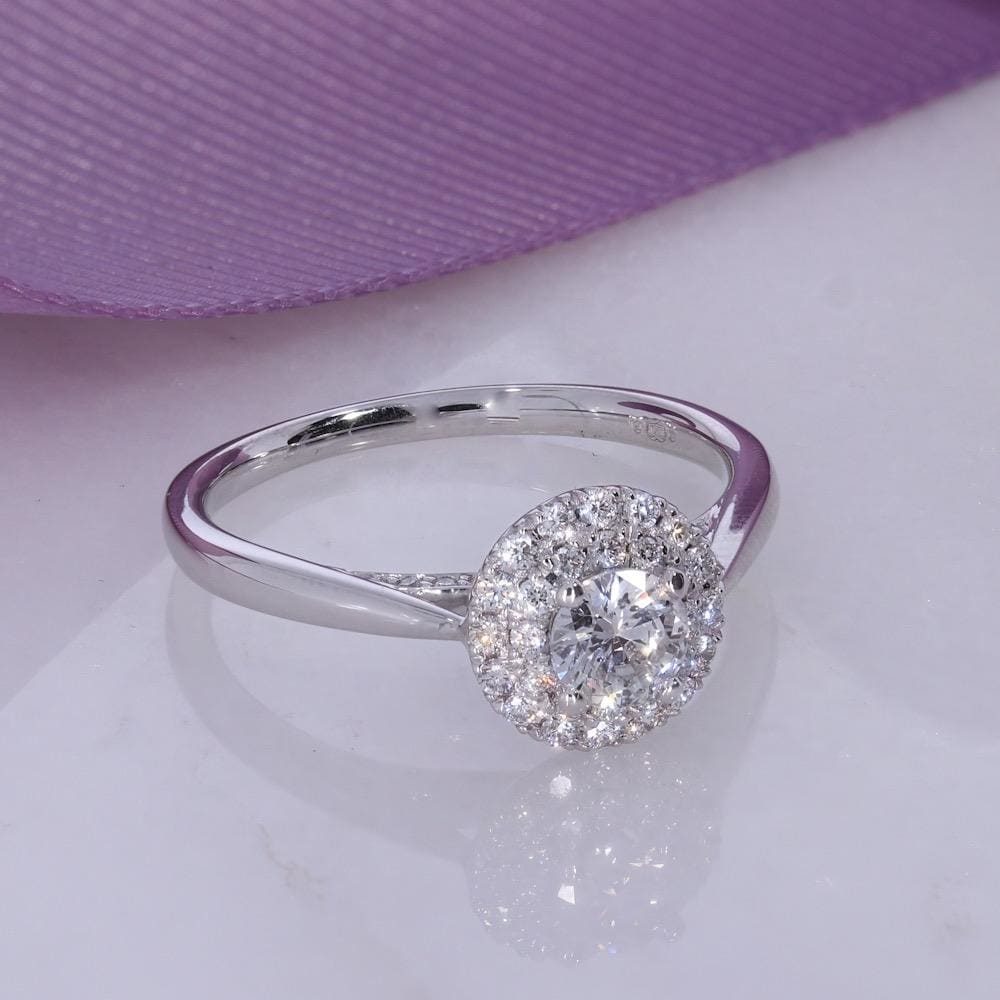 MAE - White Gold | Diamond Engagement Ring - Rings