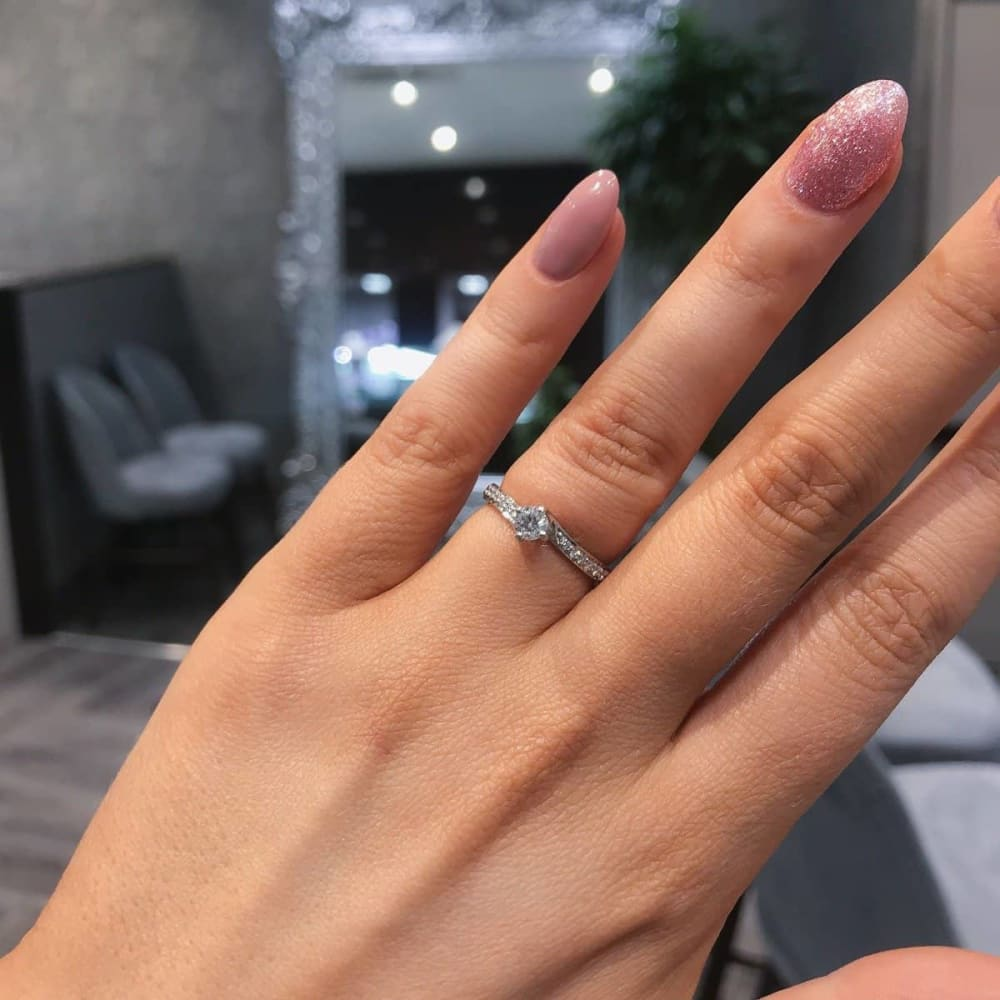 MILLIE | Diamond Engagement Ring - Gear Jewellers Parnell Street Dublin