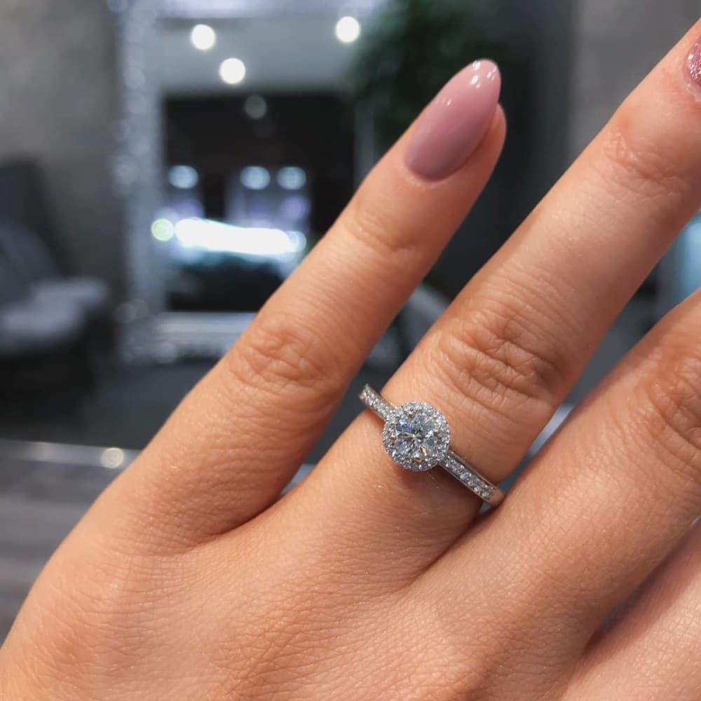 PETRA | Diamond Engagement Ring - Gear Jewellers Parnell Street Dublin