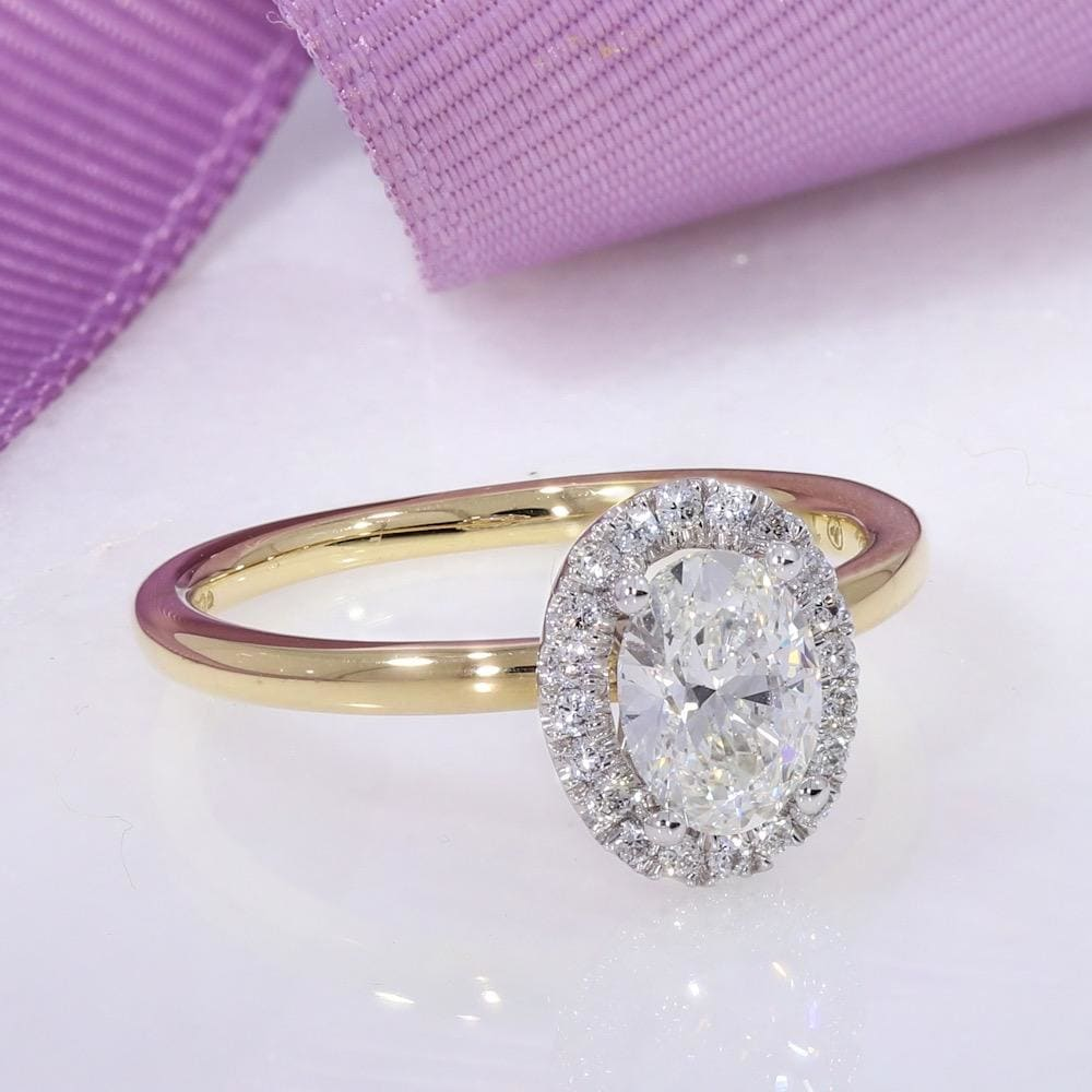 RIVA - 18ct Gold | Diamond Engagement Ring - Rings