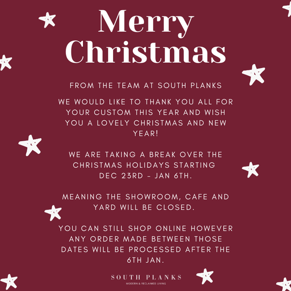 south planks Christmas hours