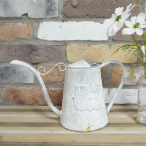 Watering Can (White) - South Planks, Barton, Reclaimed Wood, Home Interiors, Cafe