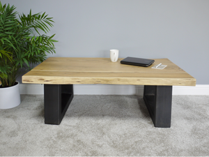 Living Edge Coffee Table-South Planks