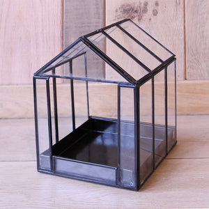 Black Glass Deco Box