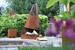 Flame Chiminea Original Corten