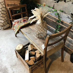 Handmade Chair Bench