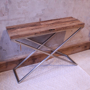 Cross Leg Console Table
