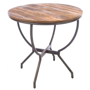 Industrial Bistro Style Dining Table - South Planks, Barton, Reclaimed Wood, Home Interiors, Cafe