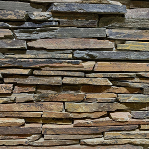 Lakeland Rustic Stacked Stone Cladding - South Planks, Barton, Reclaimed Wood, Home Interiors, Cafe