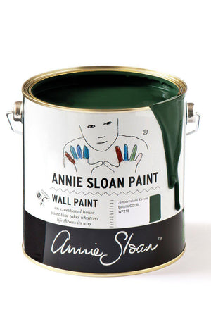 Wall Paint - Amsterdam Green 2.5l - South Planks, Barton, Reclaimed Wood, Home Interiors, Cafe
