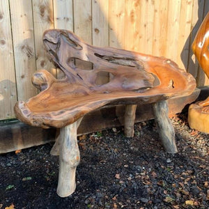 Wood Bench - South Planks, Barton, Reclaimed Wood, Home Interiors, Cafe