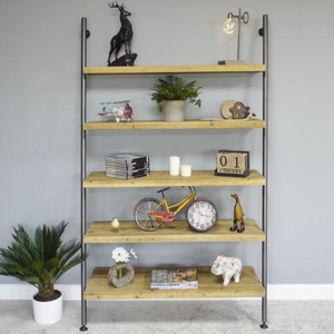 Ladder Style Shelves - South Planks, Barton, Reclaimed Wood, Home Interiors, Cafe