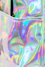 Load image into Gallery viewer, SOLID HOLOGRAPHIC CORE BACKPACK