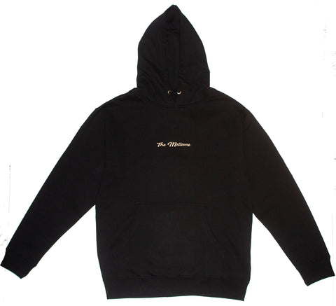 THE MILLIONS BLACK AND BEIGE HOODIE