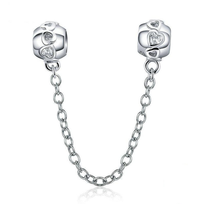 Romantic Heart Safety Chain