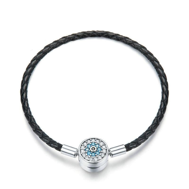 Pavé Paradise Leather Bracelet