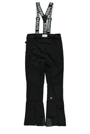 SUPERREBEL SKI TROUSERS SOFT SHELL BLACK