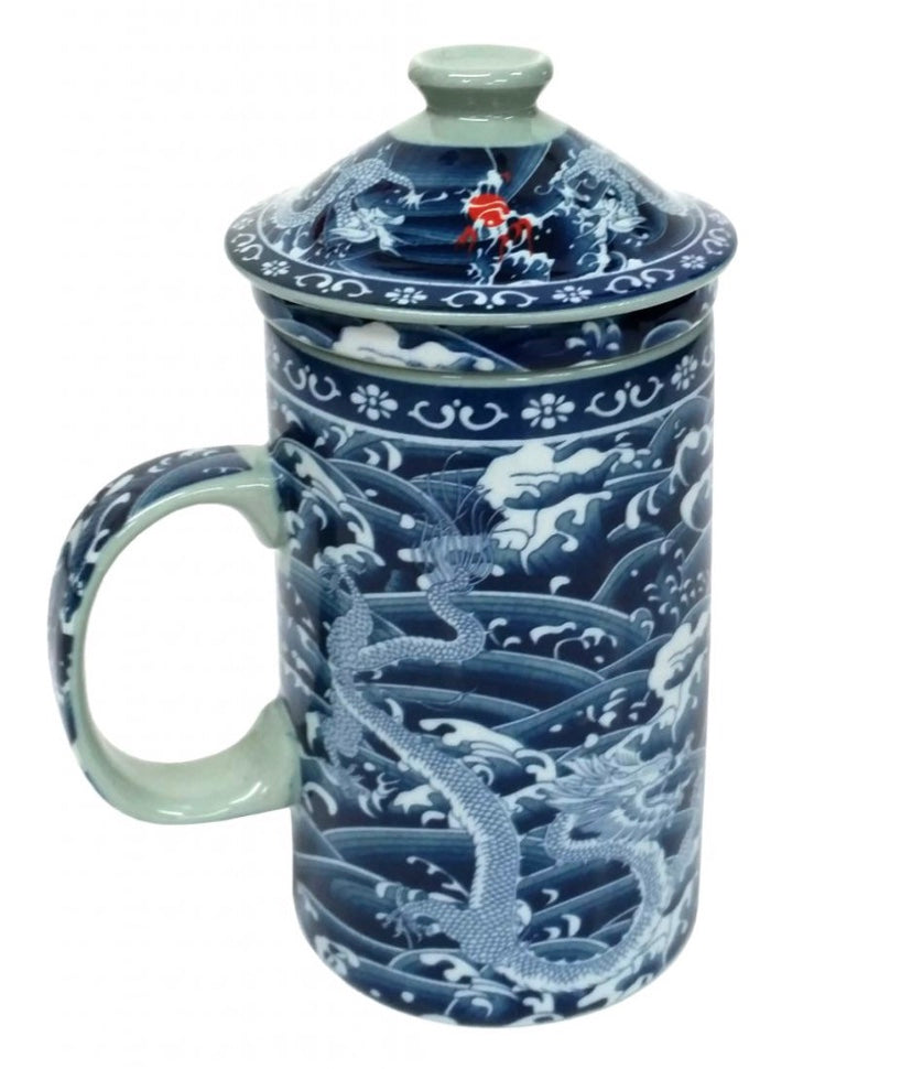 Two Dragons Chinese Infuser Cup